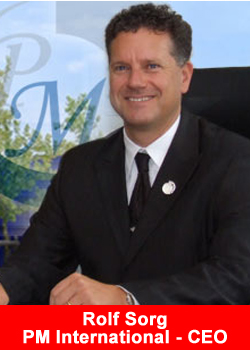 PM International, CEO, Rolf Sorg