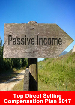 Passive Income, MLM, Network Marketing, Best Compensation Plan