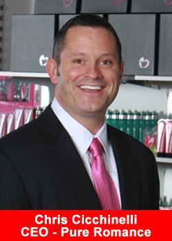 Pure Romance, CEO, Chris Cicchinelli