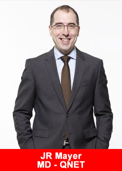 JR Mayer, Managing Director, QNET