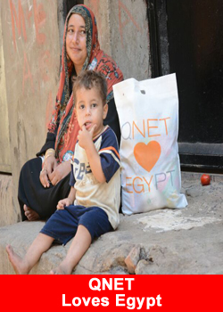 QNET, Gives Back, Egypt, Ramadan Bags
