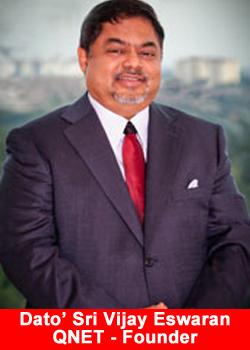 QNET, Founder, Dato? Sri Vijay Eswaran