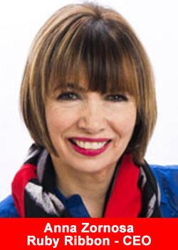 Ruby Ribbon, CEO, Anna Zornosa