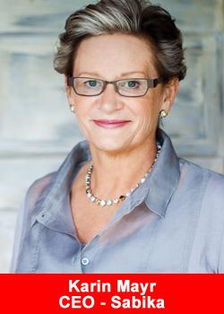 Karin Mayr, CEO, Sabika