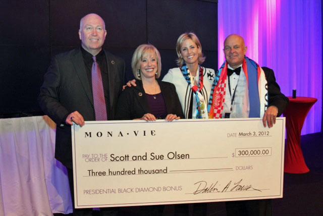 Scott and Sue Olsen Presidential Black Diamond Bonus