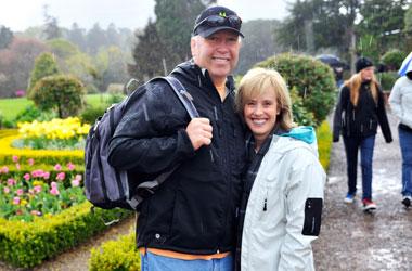 Scott and Sue Olsen in Ierland