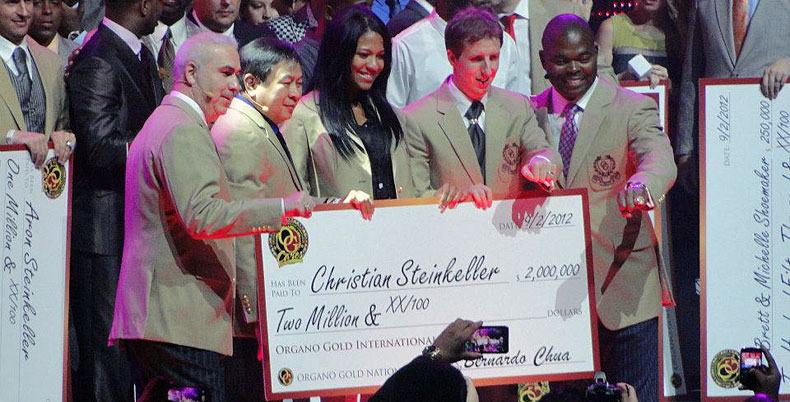 Christian Steinkeller Organo Gold Check