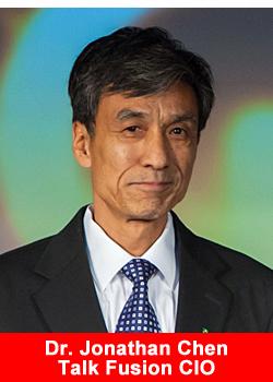 Talk Fusion, Dr, Jonathan Chen, CIO