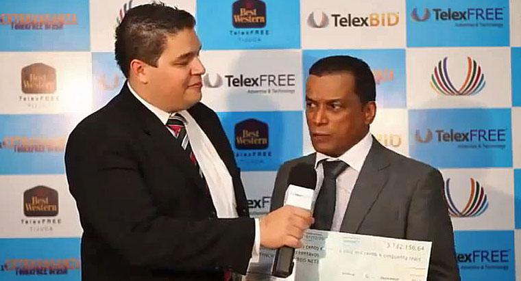 Pele Reis Check 3.1 million brasilian Real