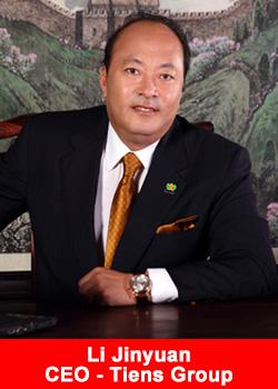 Li Jinyuan, CEO, Tiens Group, China, Direct selling