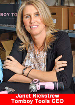 Janet Rickstrew,Tomboy Tools,CEO