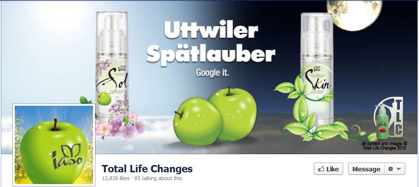 Total Life Cahnges Facebook Likes