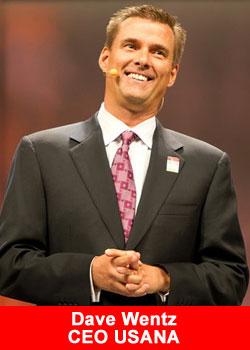 Usana, CEO, Dave Wentz