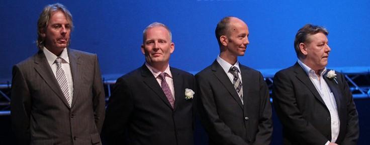Jarle Thorsen, Dan Andersson, Rune Evensen, Thomas Nordlund