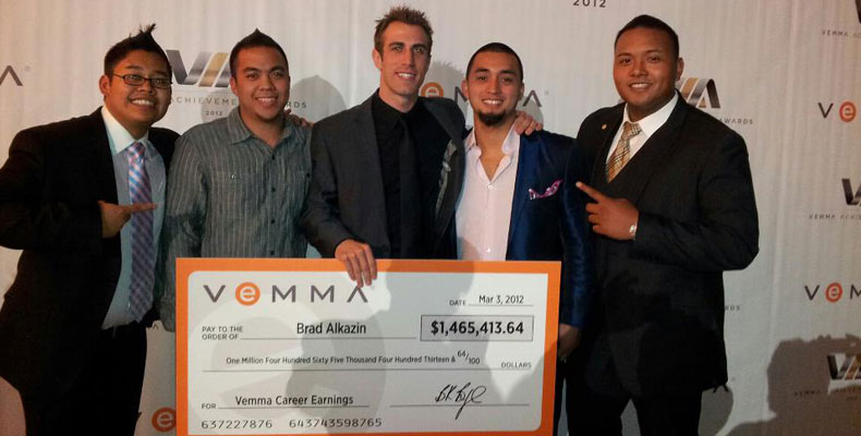 Brad Alkazin Vemma Career Earnings