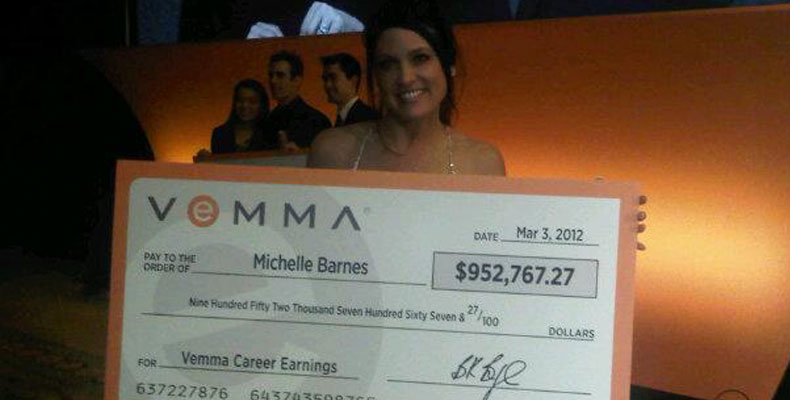 Michelle Barnes Vemma Career Earnings