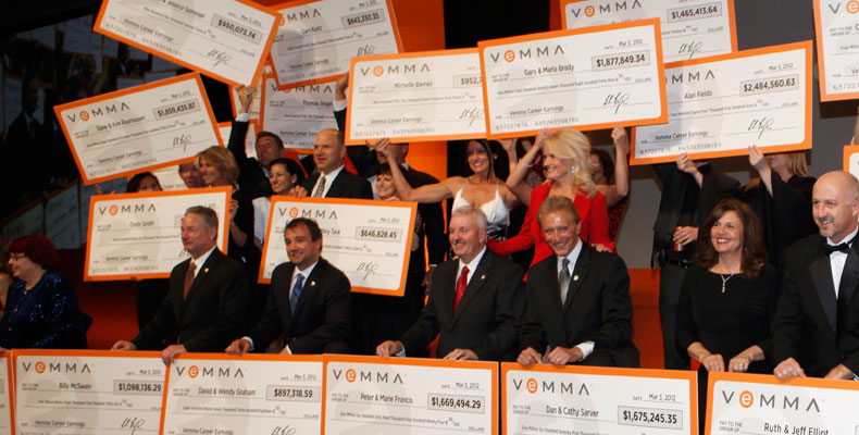Vemma Career Earnings close Up