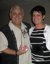 Frank Varon and Lori Petrilli