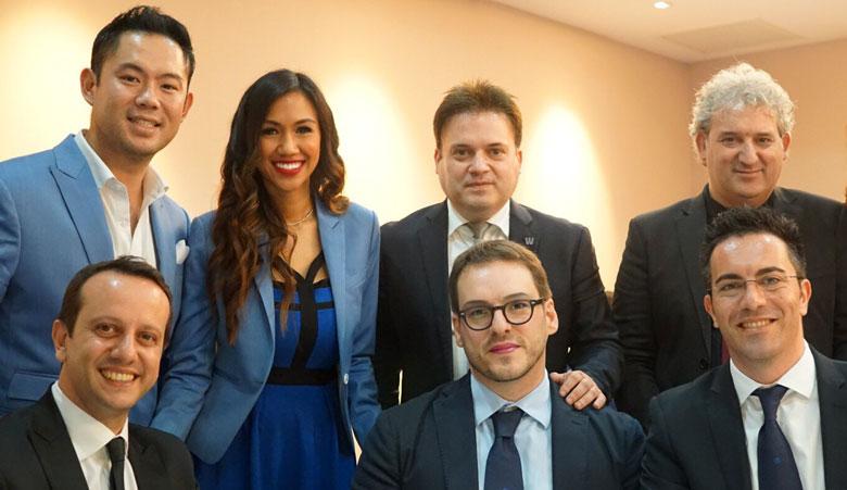 Chad & Nattida Chong and The Corporate Team