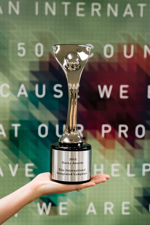 zija international wins davey product campaign award direct about zija international