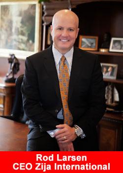 Zija, CEO, Rodney Larsen