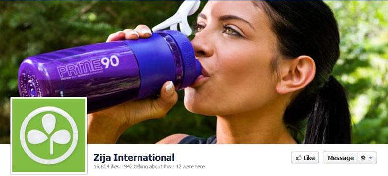 Zija Facebook 15,604 Likes