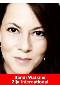 Sandi Watkins, Zija International