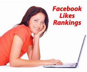Facebook Likes Rankings