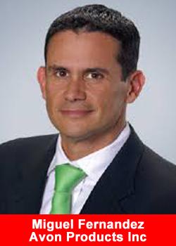 Resultado de imagen para Miguel Fernández, presidente global de Avon